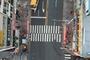 용인중앙시장 사거리, 바닥신호등 시범 설치