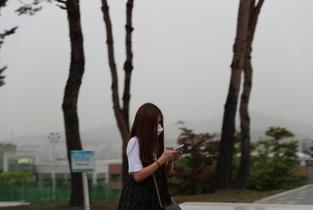 중국산 불량 미세먼지 마스크 폭리 유통