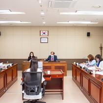 시의회, 코로나 거리두기 2.5 연장 속 '임시회' 개회