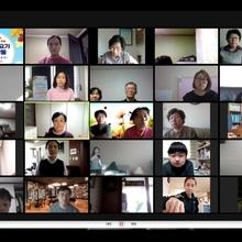 청덕동 물푸레 마을 '온라인 축제' 소통의 장