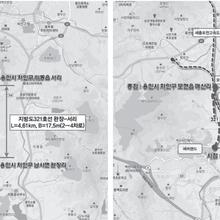 321번 지방도 완장~서리·유운~매산 4차선 '확장'